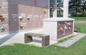 Columbarium at All Saints Cemetery (Catholic Cemeteries Office)