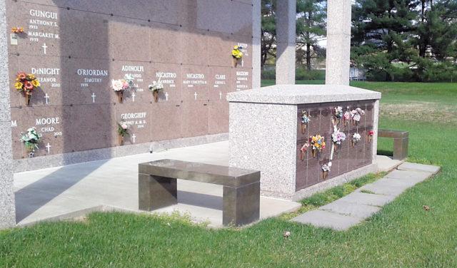 Columbarium at All Saints Cemetery (Catholic Cemeteries Office)