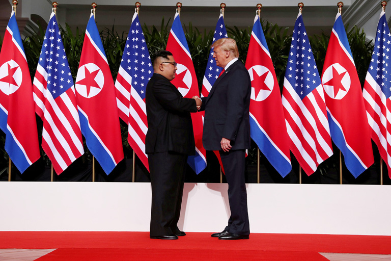 After successful Korea summit., Donald Trump now sets his eyes on Iran