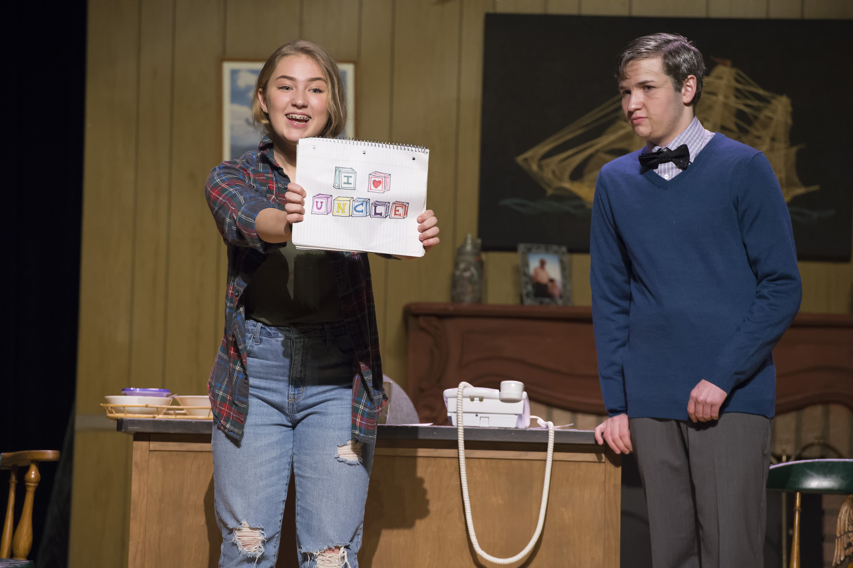 Ss  Peter and Paul High School dazzles Avalon Theatre with