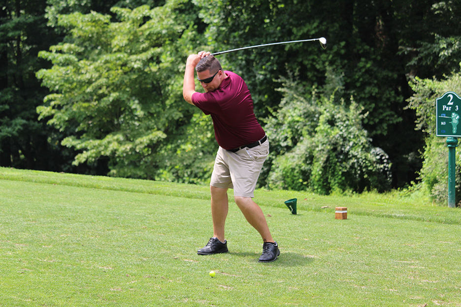 Joseph McNesby Jr  Golf Outing draws capacity field to