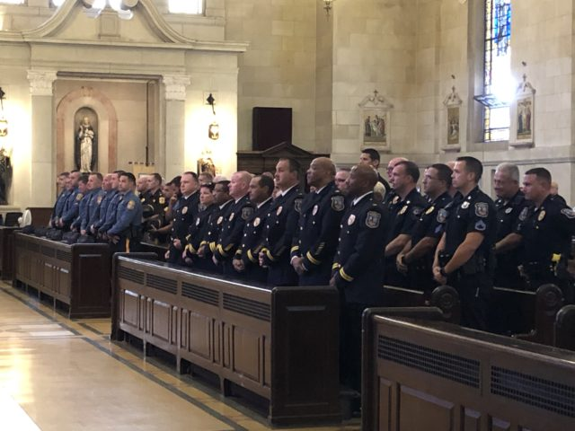 Diocese of Wilmington Annual Blue Mass attendees
