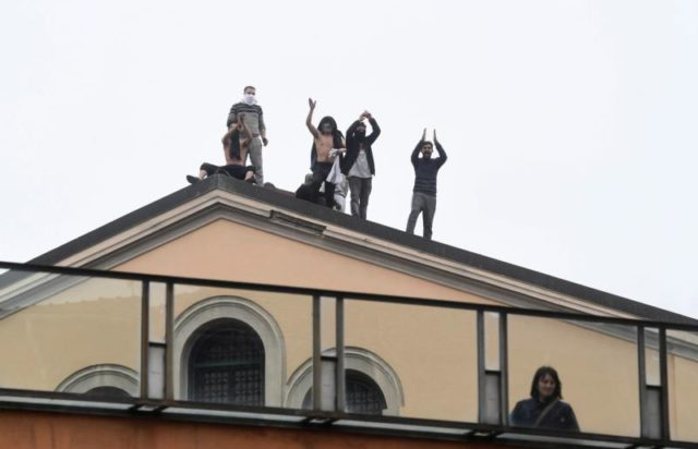 Inmates Italy Coronavirus