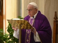 Pope Francis coronavirus prayer