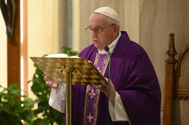 Pope Francis coronavirus prayer