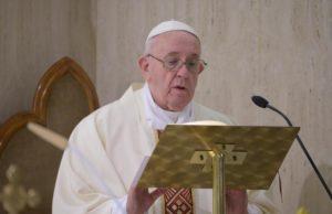 Pope Francis coronavirus mass political