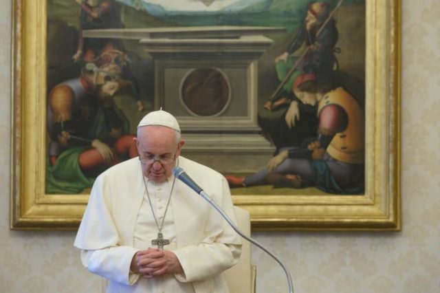 Pope Francis creation coronavirus