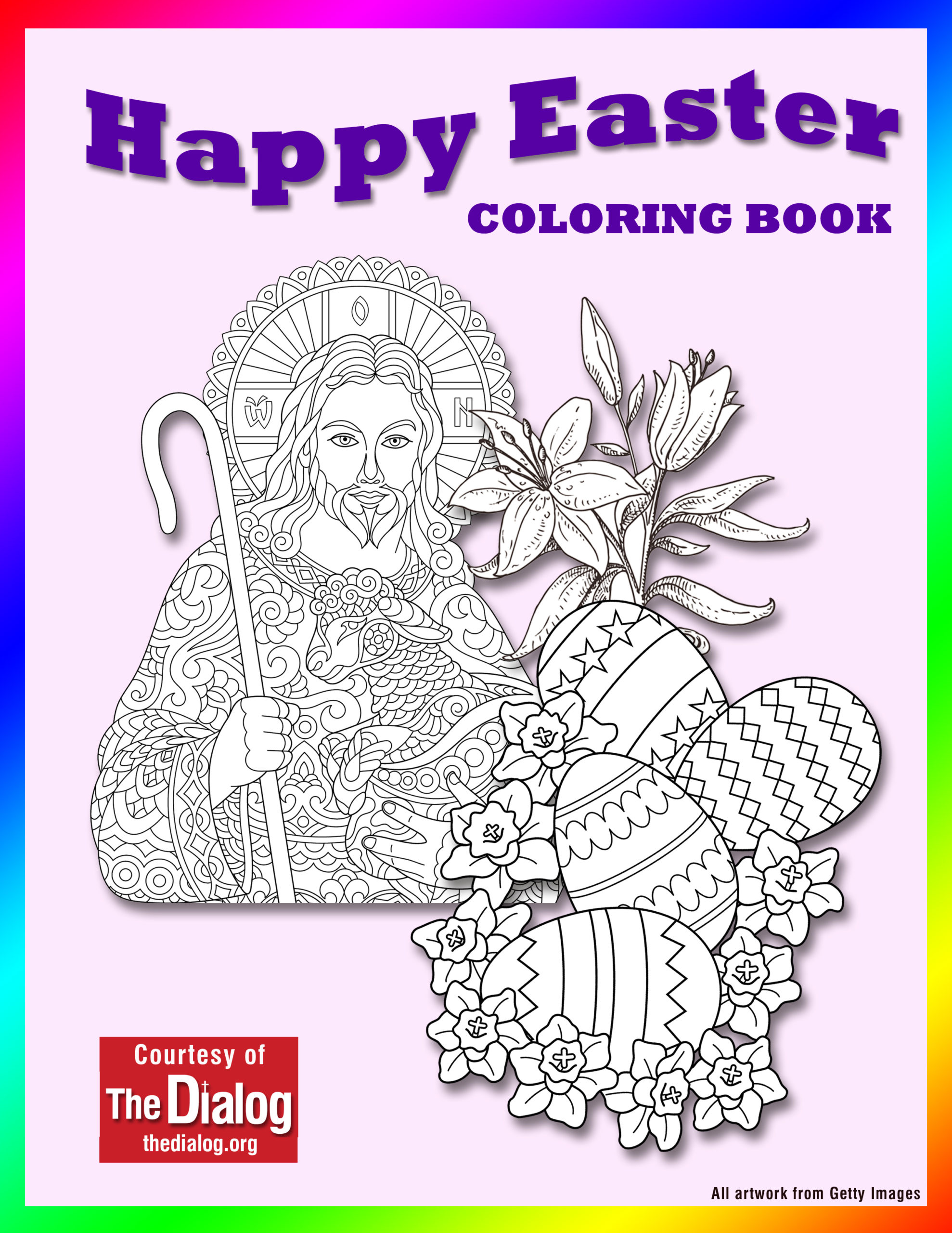 - Easter Coloring Book Available For Download From The Dialog - The